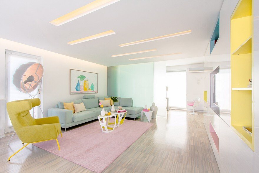 Rio Apartment is an Etheric Place Where Light is the Queen and Pastels Shine 1