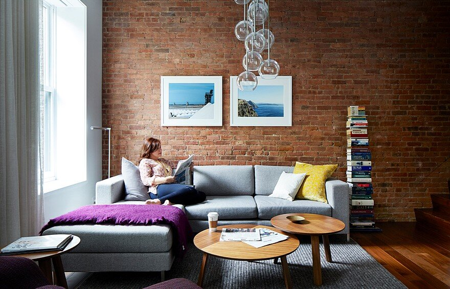 Upper West Side Apartment 1970s Condo Conversion by STADT Architecture
