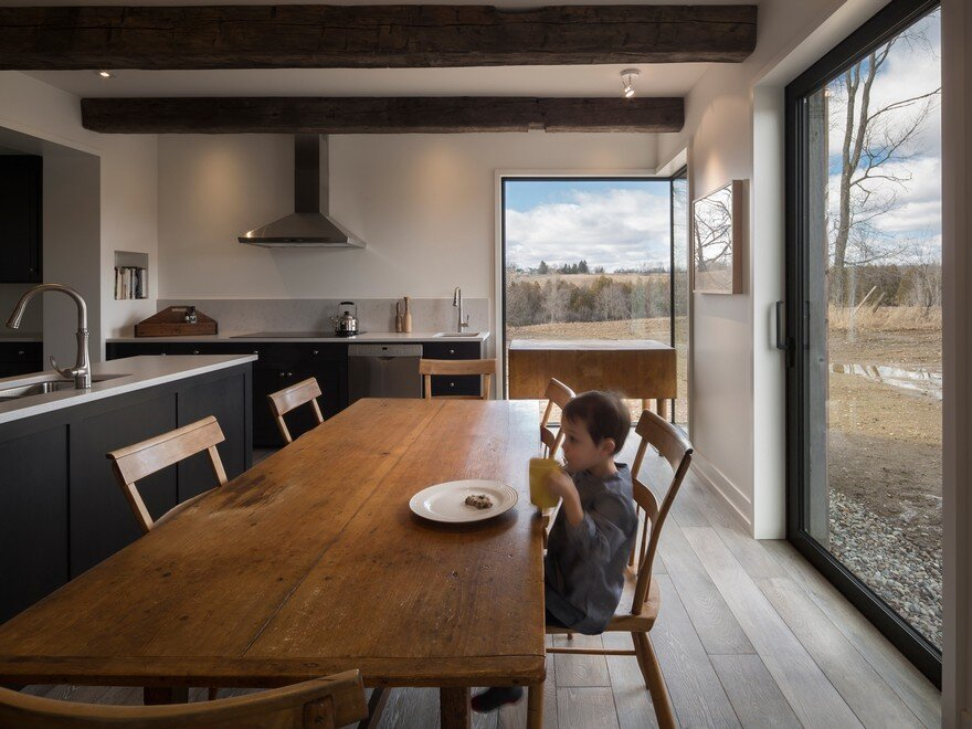 dining room, Lee And Macgillivray Architecture Studio