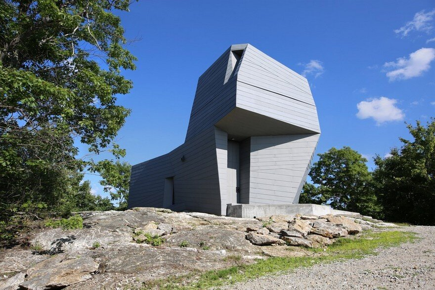 Gemma Observatory Located on a Remote Mountain Summit in New Hampshire
