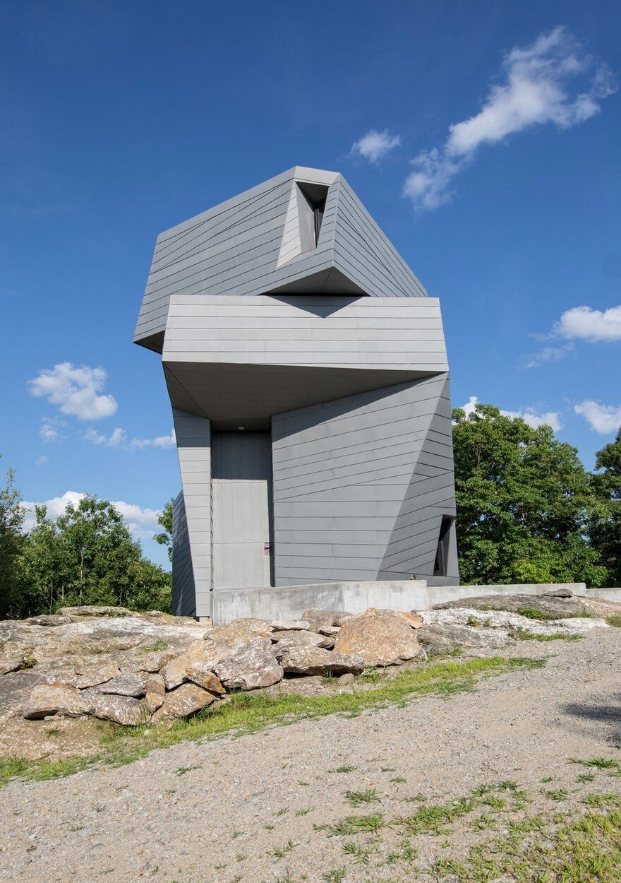 Gemma Observatory Located on a Remote Mountain Summit in New Hampshire 1