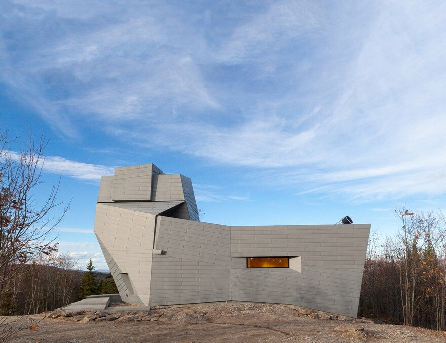 Gemma Observatory Located on a Remote Mountain Summit in New Hampshire 11