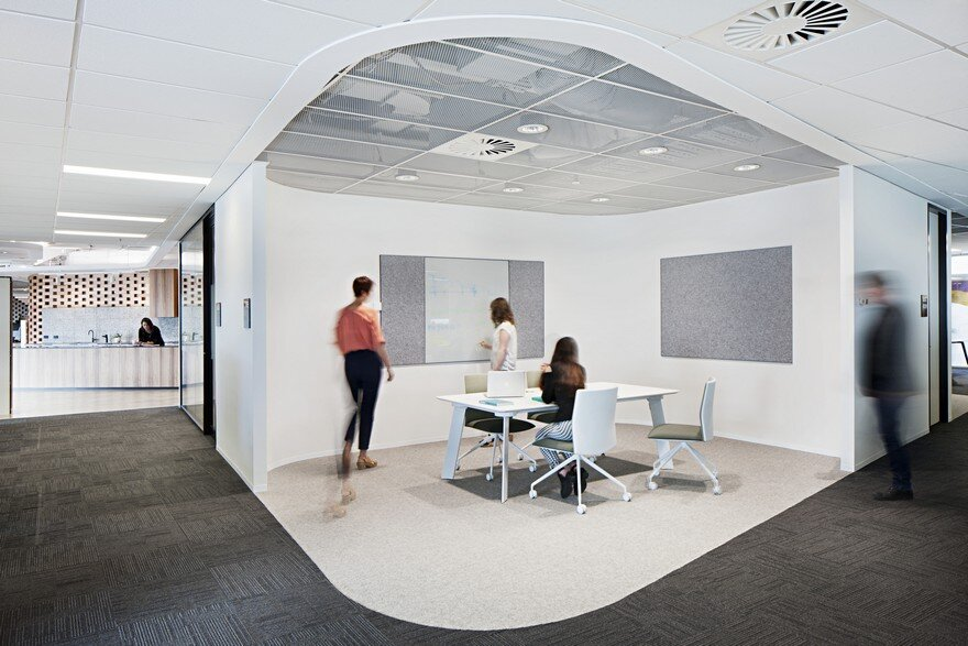 New Contemporary Workplace by Woods Bagot for ADCO in Melbourne 4