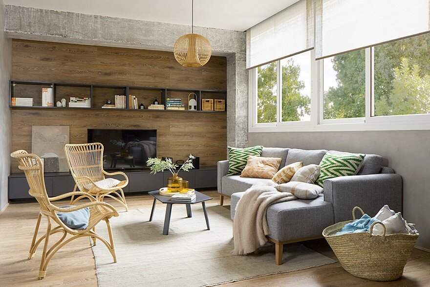 Inspiring Spanish Apartment with Raw Industrial Details