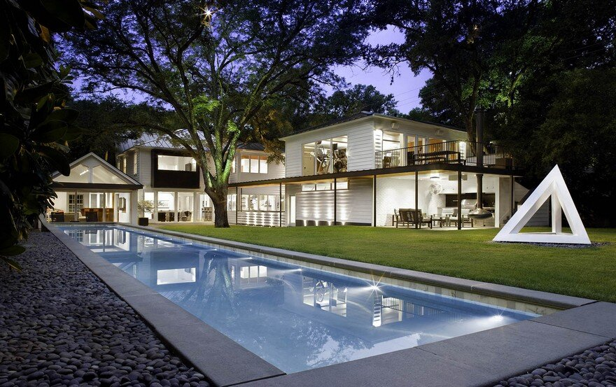 Contemporary Renovation of a 1940s House in Austin, Texas
