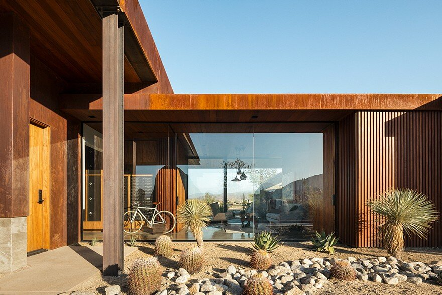 Desert Palisades Guard House by Studio AR&D Architects 5