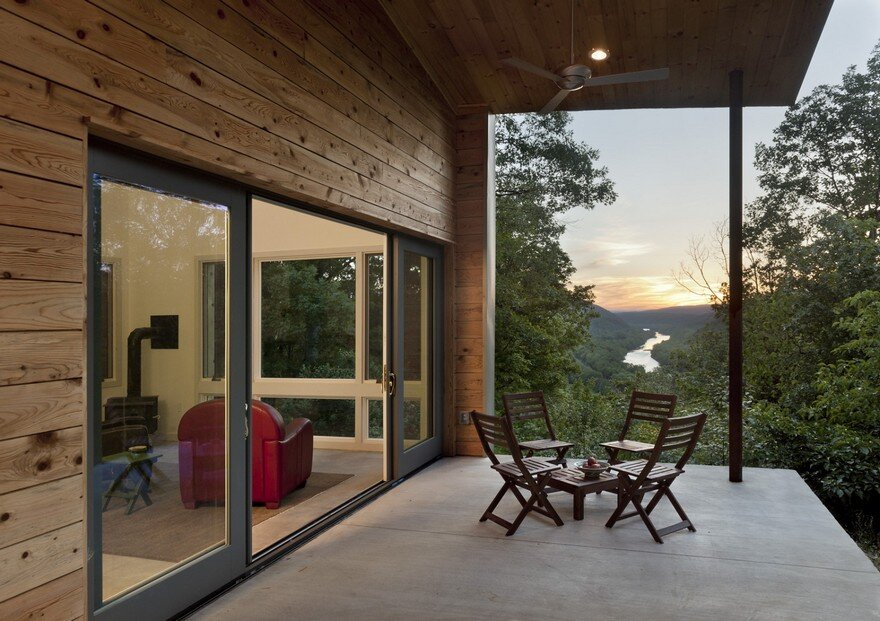 Modern Reinterpretation of the Vernacular Dogtrot Appalachia House 7