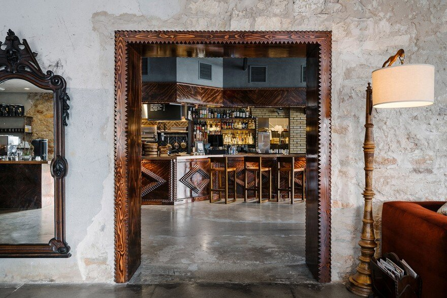 A Boutique Hostel, Cafe, and Event Space Nestled in a 1800's Stone Building 6