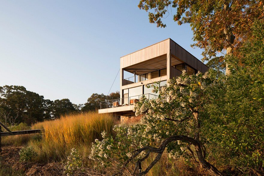 This Southampton Rustic Waterfront Home Offers Spectacular Wetlands Views