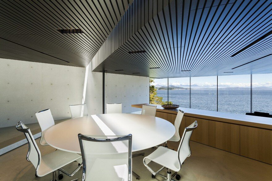 Tula House is Perched 44 Feet Above the Pacific Ocean on a Remote Island 6