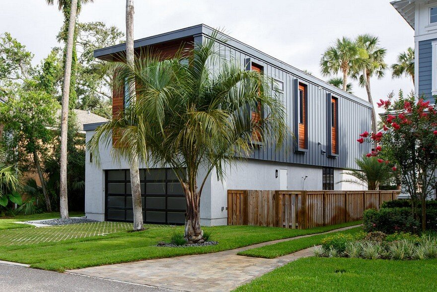 Contemporary Industrial Home in Atlantic Beach, Florida 1