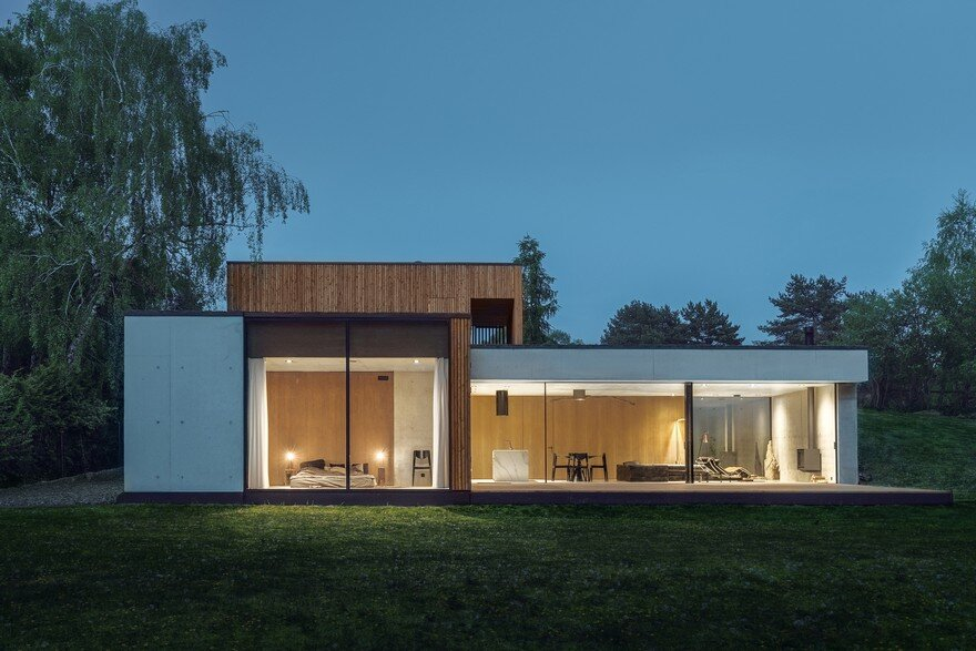 Contemporary Residence With a T-Shaped Floor Plan in Poznan, Poland 24