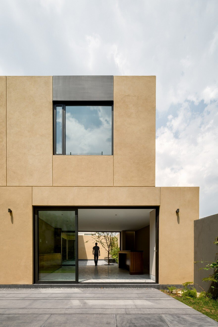 Mexican House Build from Compressed Earth Blocks Formed On-Site 1