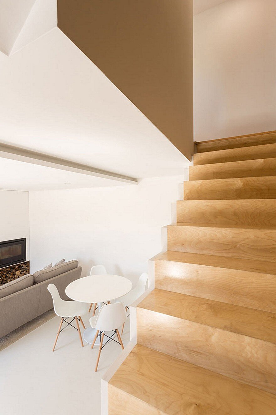 staircase, Paulo Martins Arquitectura and Design