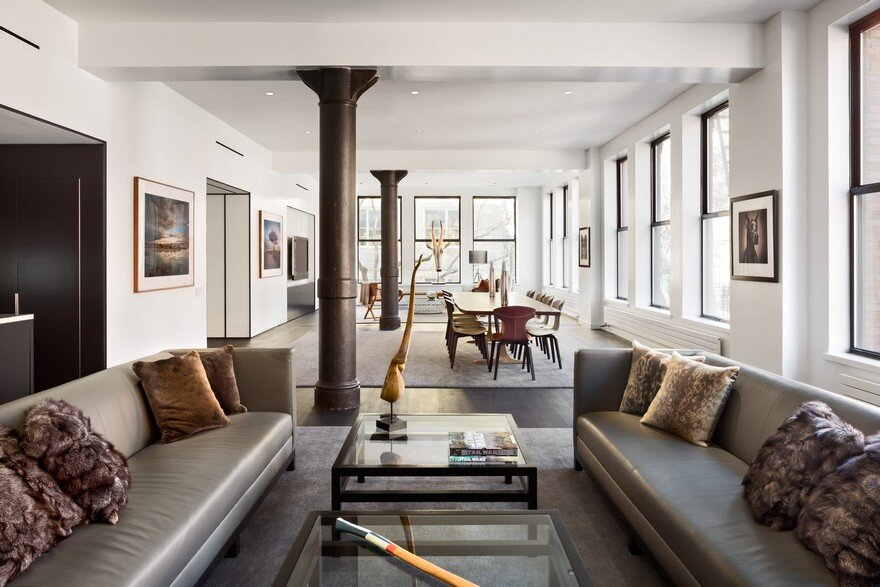 Sophisticated Masculine Loft Apartment in Soho, New York City