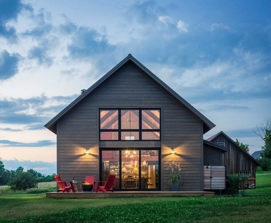 Vermont Modern Barn by Joan Heaton Architects 16