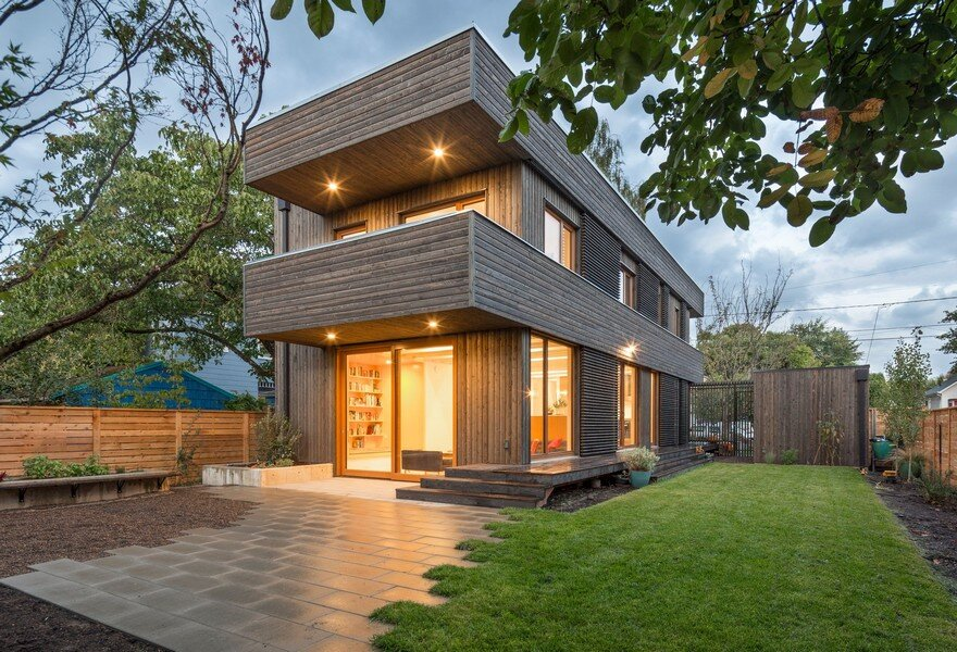 18th Avenue House: Smart Modern Home by In Situ Architecture, Portland