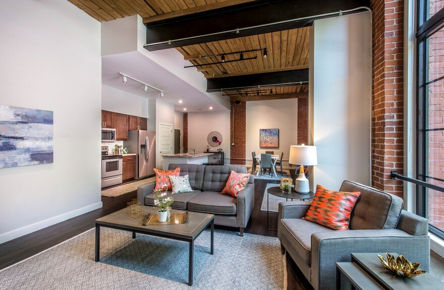 Adaptive Reuse and Restoration of a Historic Building Features 57 Modern Lofts 7