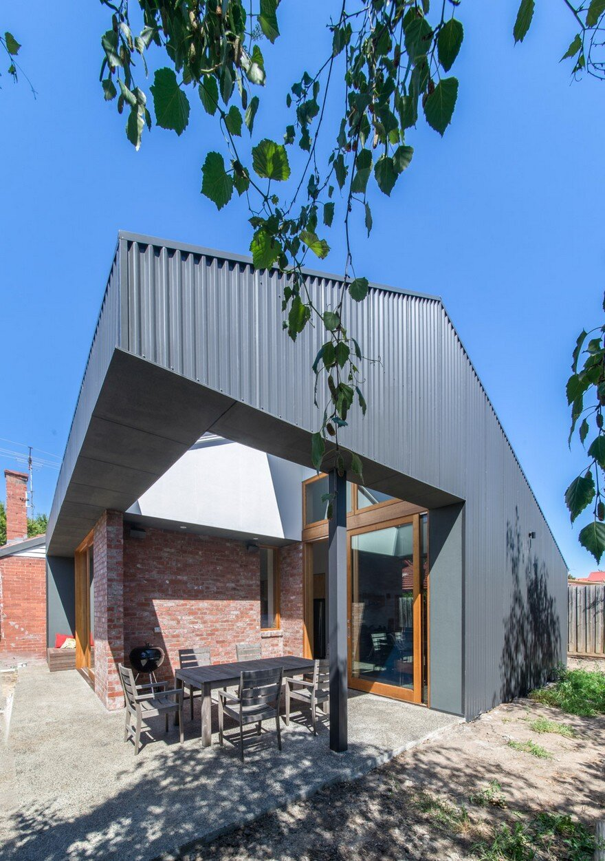 A Small 1930's Brick Bungalow Transformed into a Cozy Family Environment