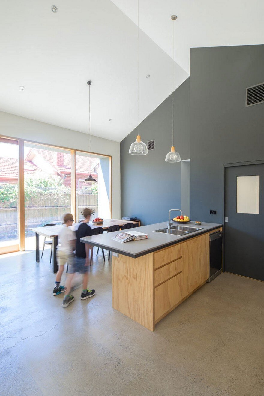 A Small 1930's Brick Bungalow Transformed into a Cozy Family Environment 5