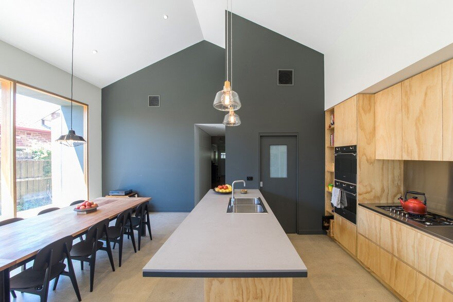 A Small 1930's Brick Bungalow Transformed into a Cozy Family Environment 3