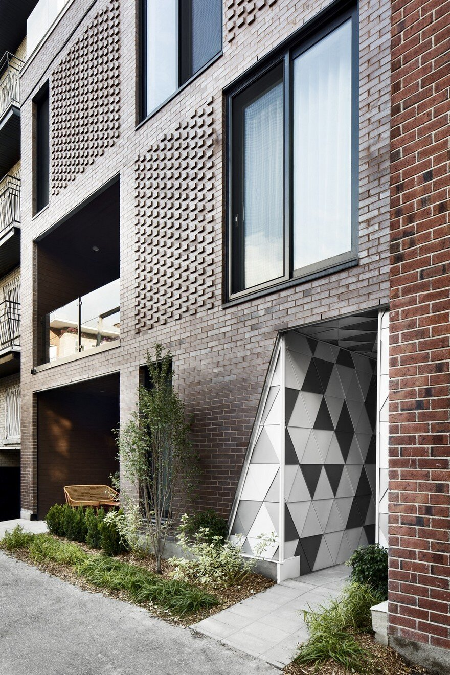 Contemporary Residential Building of Five Housing Units: La Géode by ADHOC Architects 13