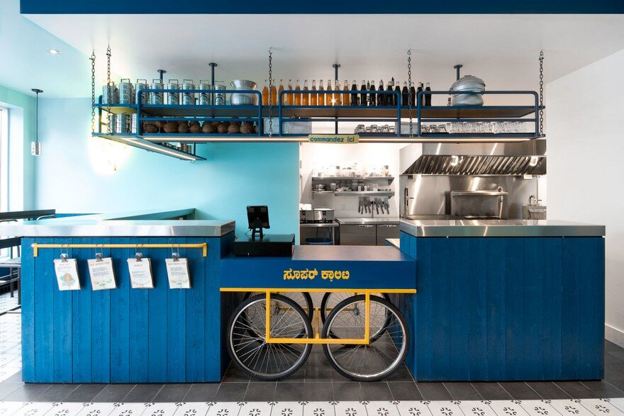 Cook Caravan Snack Bar in Montreal by David Dworkind