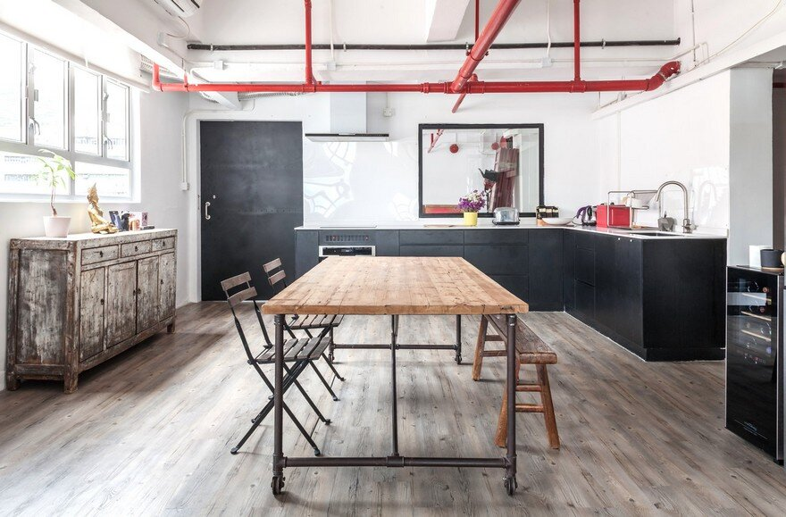 Industrial Warehouse Converted Into A Family Home And Creative Workshop Space