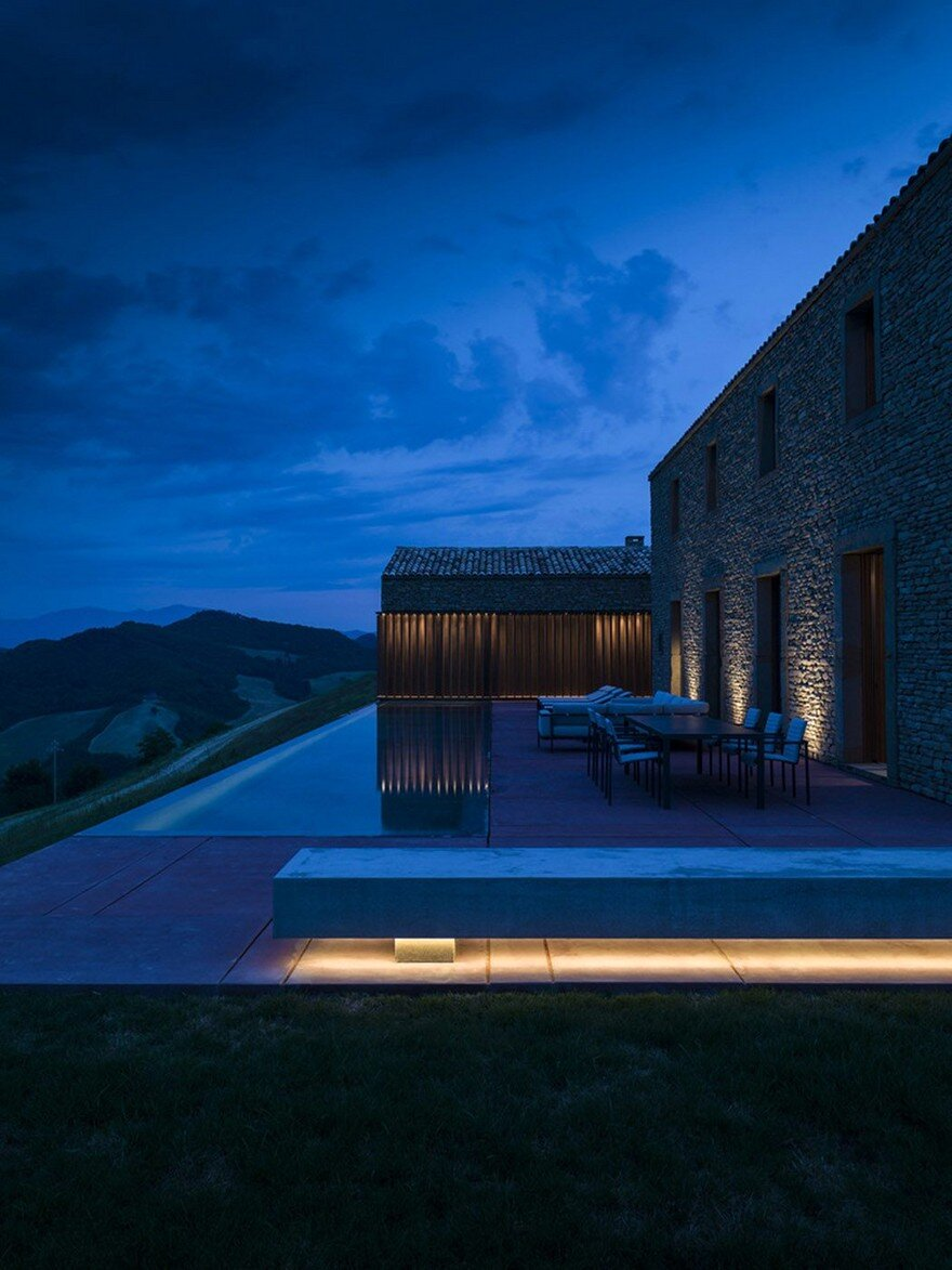 This Italian Stone House Celebrates Vernacular Architecture in a Modern Way 17