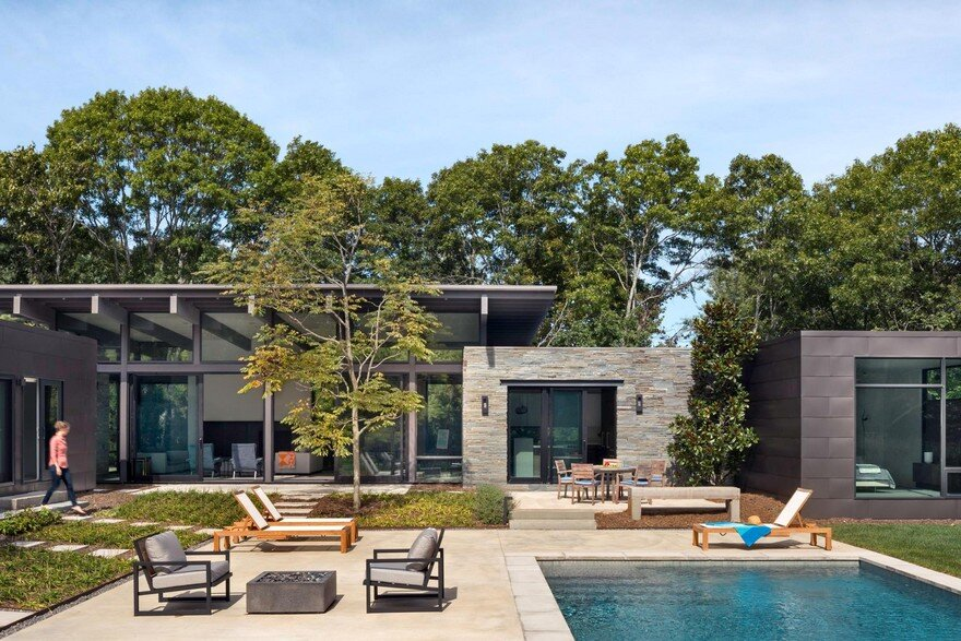 Long Island Retreat Completely Restructured by Lake Flato Architects
