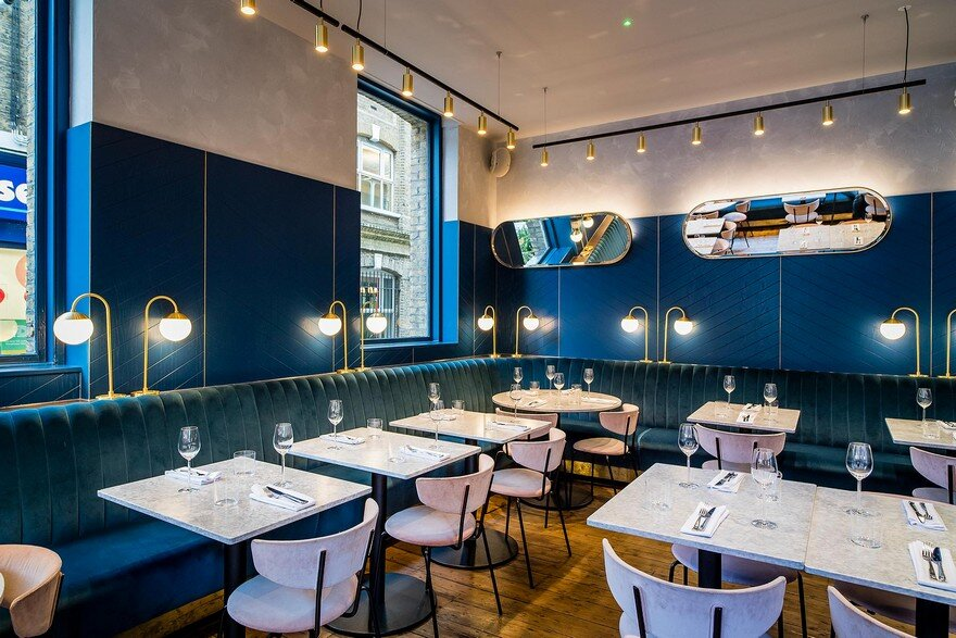 Biasol Converts 1870s Warehouse into Restaurant and Cocktail Bar in Clerkenwell, London 3