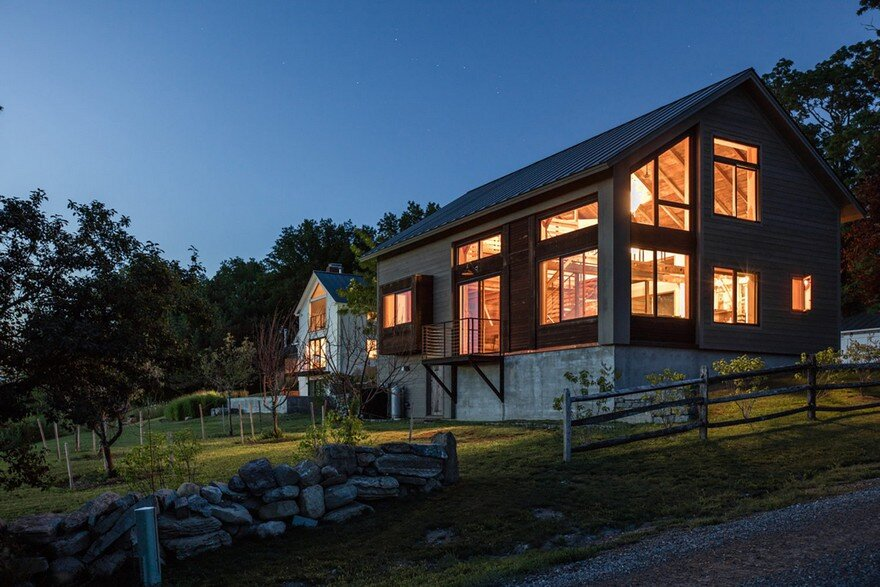 Joan Heaton Translated the Vernacular of a 1788 Vermont Farm into Contemporary Design
