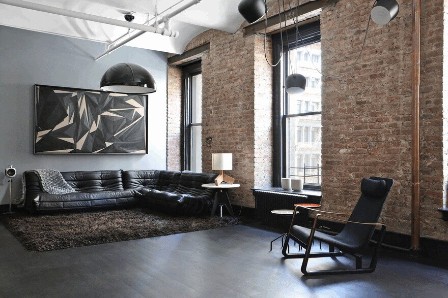 1903 Noho Factory Converted into Industrial Loft-Style Home 1
