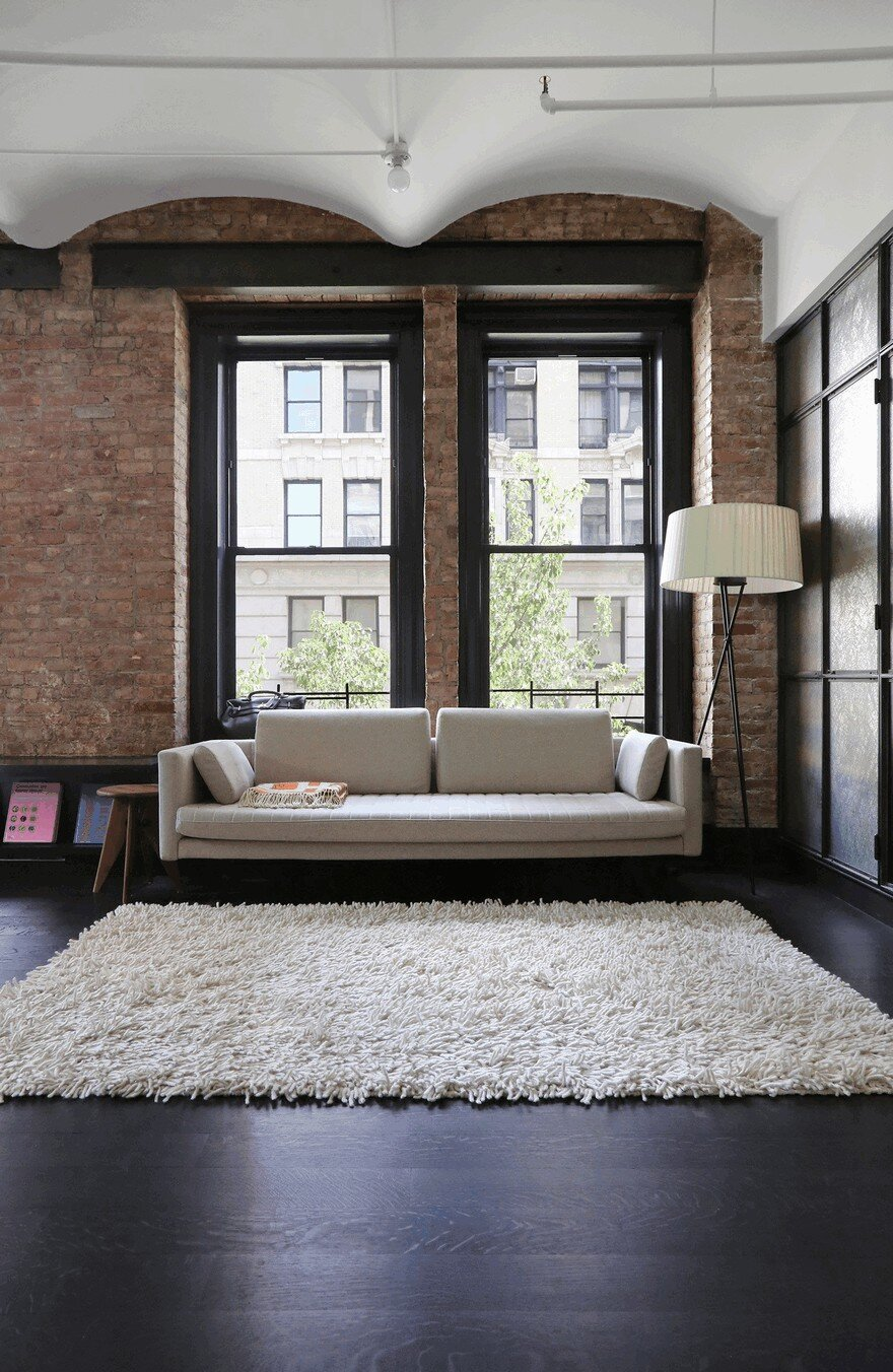 1903 Noho Factory Converted into Industrial Loft-Style Home 12