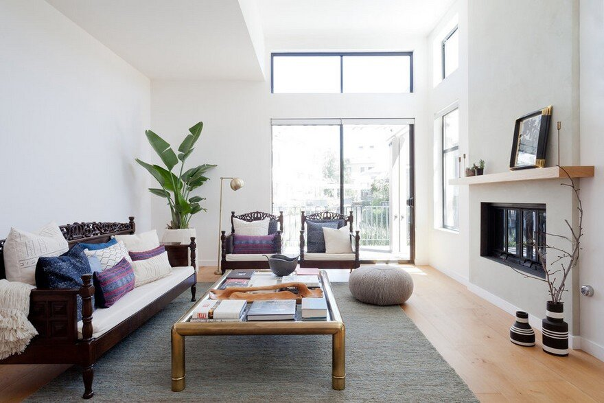 Irvine Townhouse Combines Modern Design with Cultural Traditions