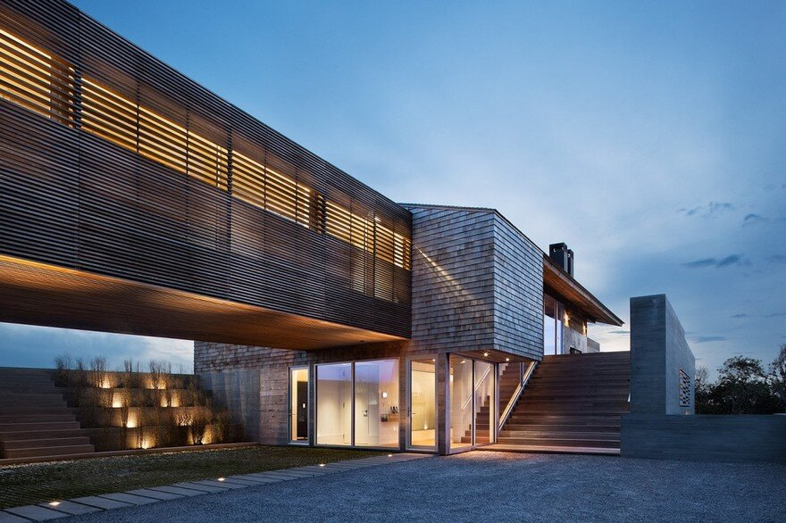 Modern Montauk House by Bates Masi Architects