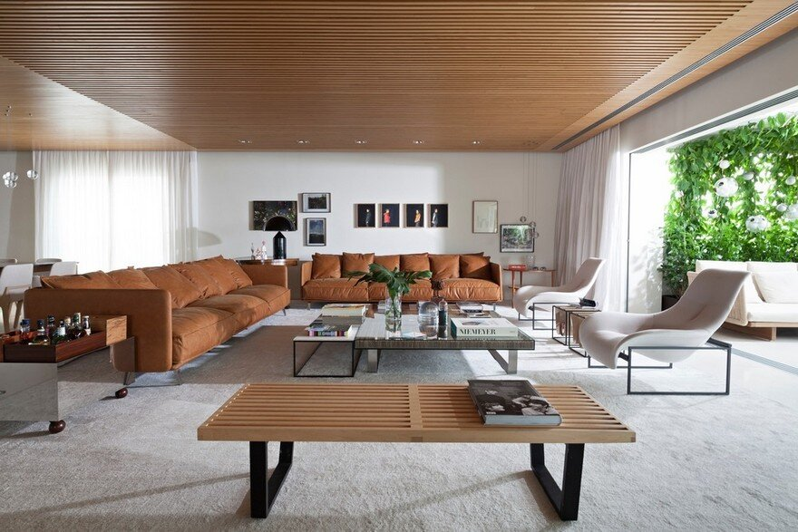 Neoclassical Apartment Transformed into a Contemporary Living Space
