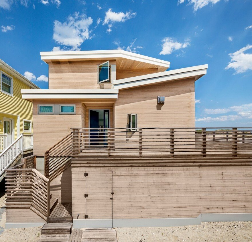 Oceanside House in Breezy Point, New York / BFDO Architects 1
