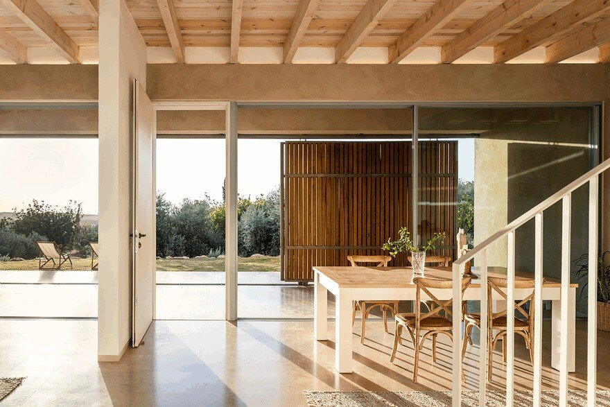 A Galilee House Integrated into the Pastoral Surroundings / Golany Architects 6