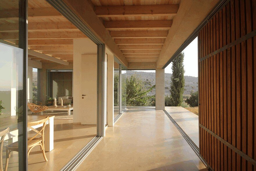 A Galilee House Integrated into the Pastoral Surroundings / Golany Architects 5