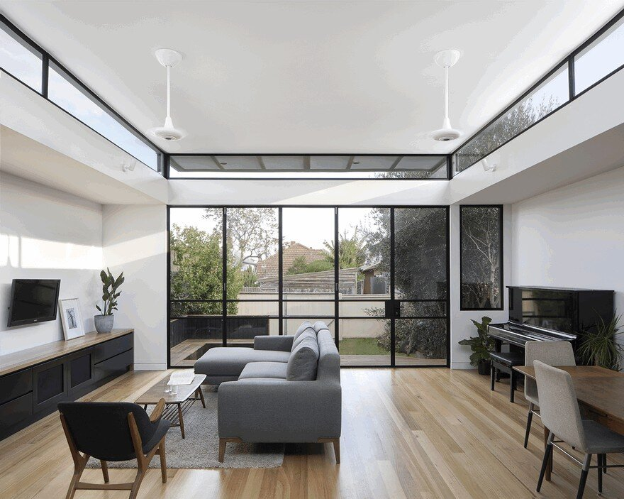 The Roof Of This New Northcote House Curves Upwards To Provide Sunlight 3