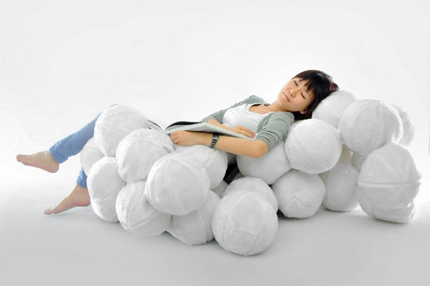 Indoor Leisure Chair Inspired By Clouds