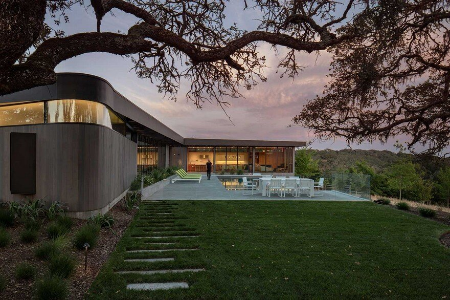 Lichen House in Sonoma Valley, California, Schwartz and Architecture 1