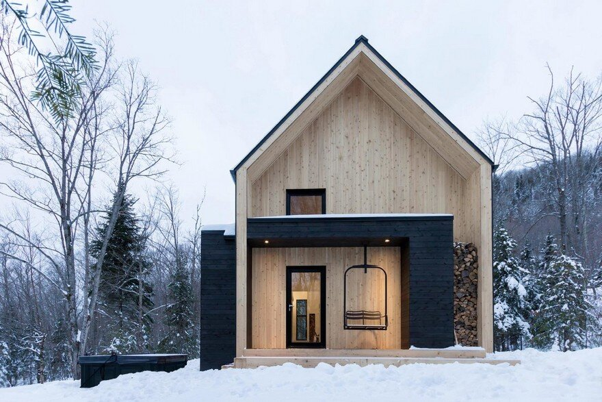 Scandinavian Inspiration Residence in the Heart of the Boreal Forest