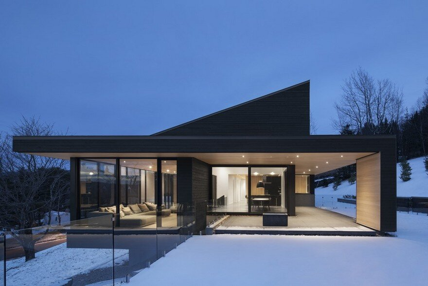 Vingt House, Bourgeois Lechasseur Architects 1