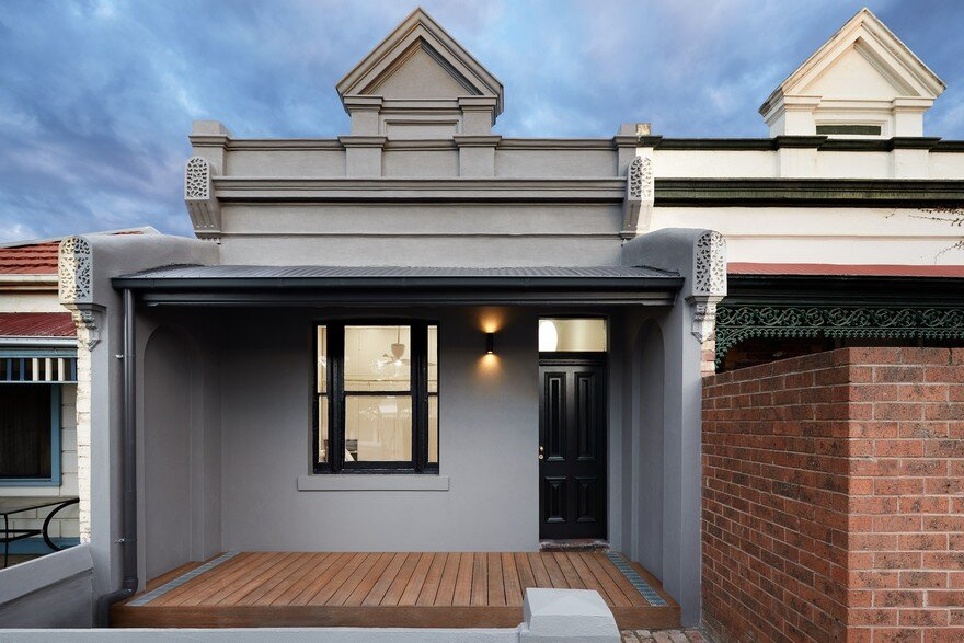 Brunswick House: Extension to a 1890's Single Storey Victorian Cottage