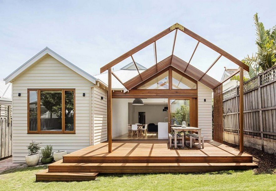 Edwardian Weatherboard House Renovated by Sheri Haby Architects