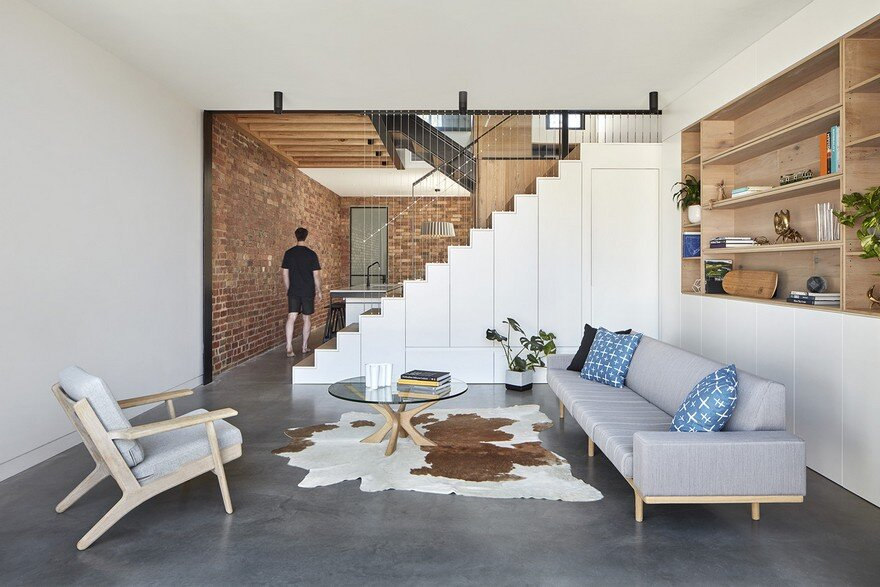 living room, MMAD Architecture