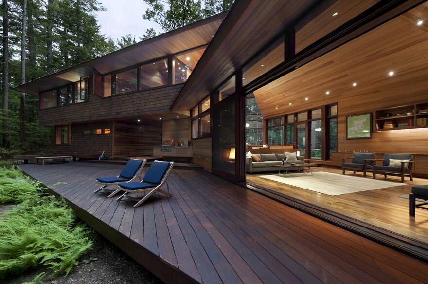 Lakeside Camping in New Hampshire Designed For Three Generations 2