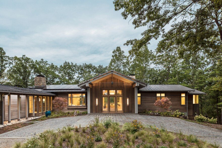 Mill Spring Relaxing Retreat in North Carolina, Samsel Architects 20
